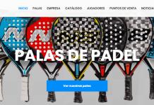 Enebe Pádel estrena página web