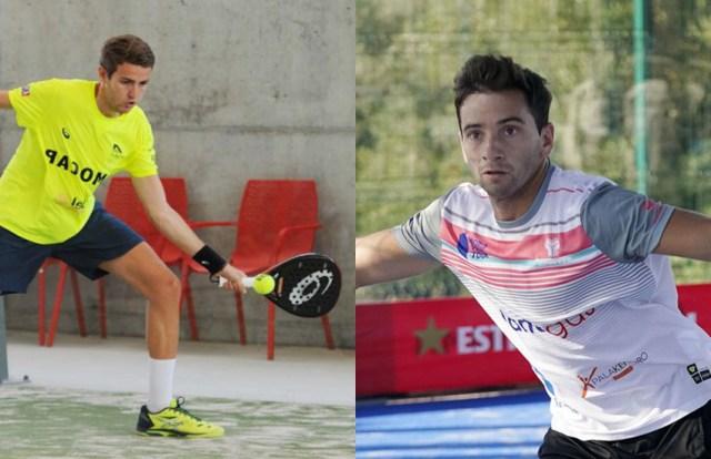 Marc Quílez y Cristian Gutiérrez pareja