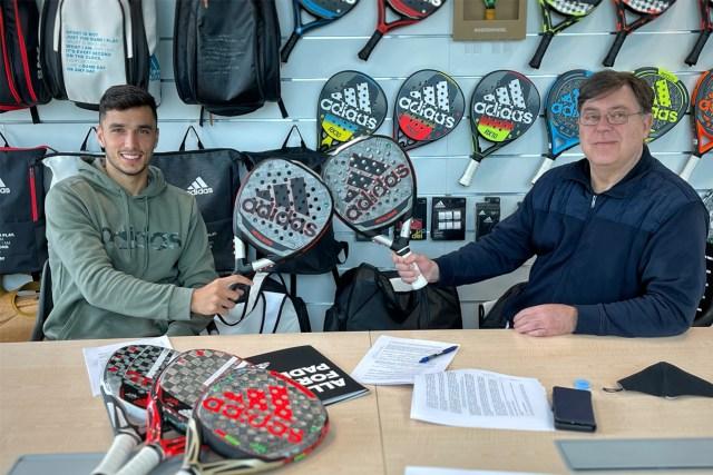 Renovacion Ale Galán - Adidas Padel