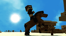 ¡Rally de Mundo-Minecraft!