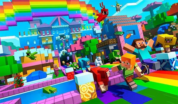 Minecraft 1.12 Actualización de los colores del mundo