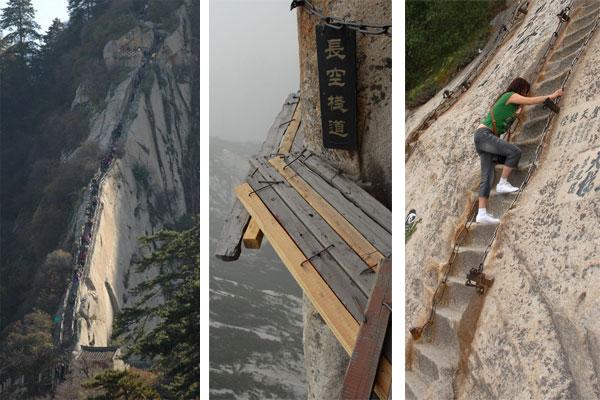 caminos de hua shan