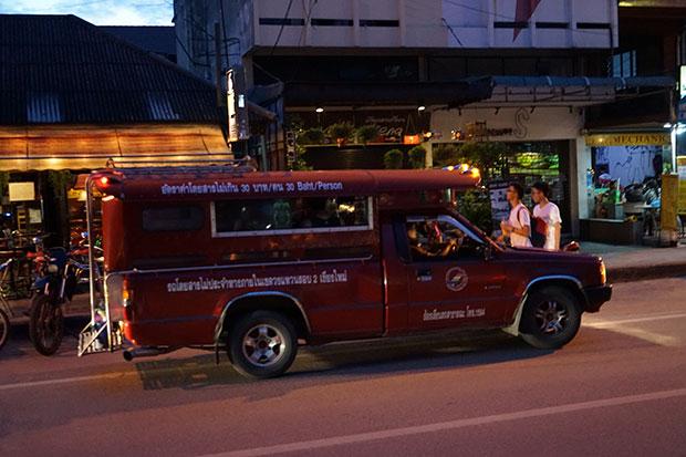 Camioneta tipo Songataew