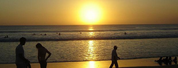 Playa de la Isla de Bali