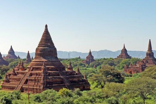 Templos-de-Bagan