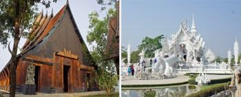 La-Casa-negra-y-el-Templo-blanco-de-Chiang-Rai