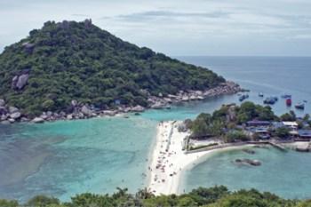 La isla de Koh Tao, centro del Buceo en Tailandia