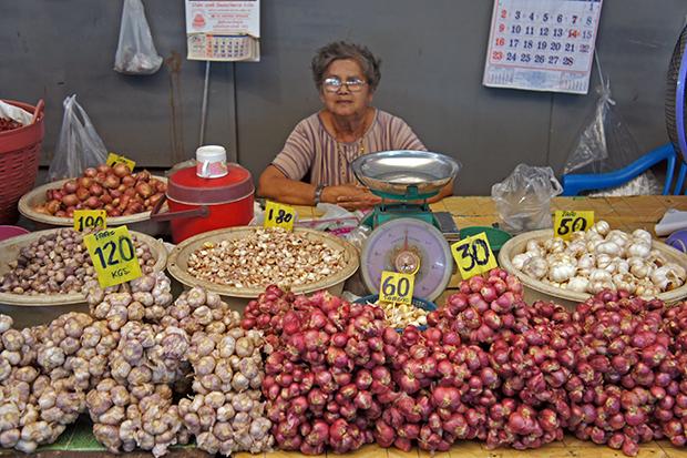 Mercado-tailandés