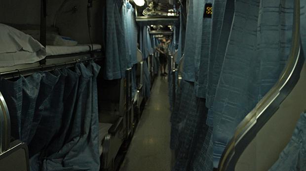 Segunda-clase-tren-a-Chiang-Mai