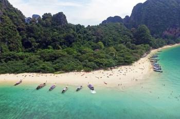 Las mejores playas de Krabi, desde el aire