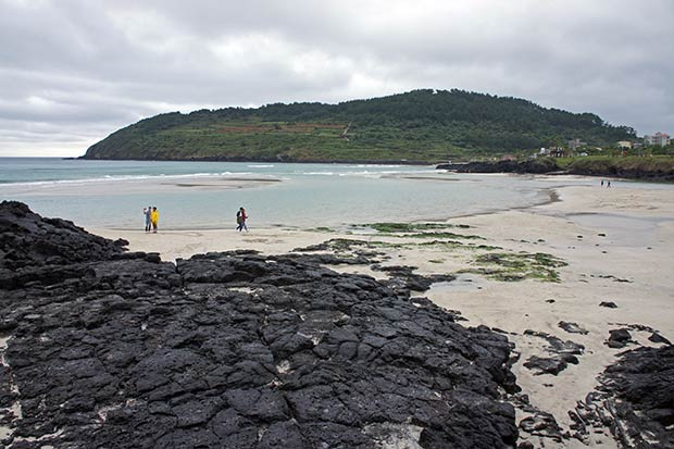 La famosa Hamdeok-Beach