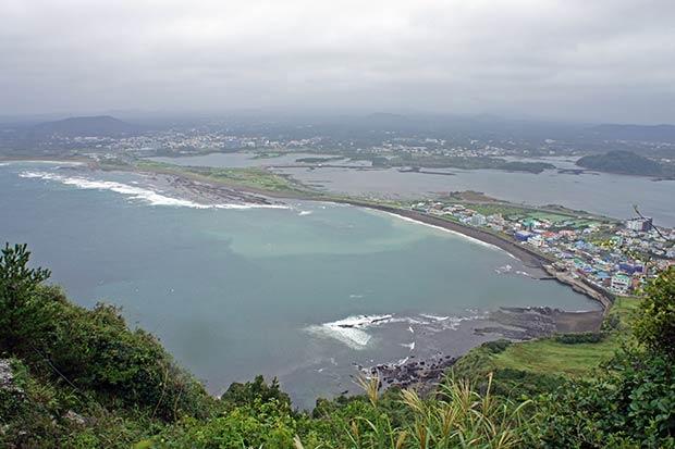 Foto desde el crater
