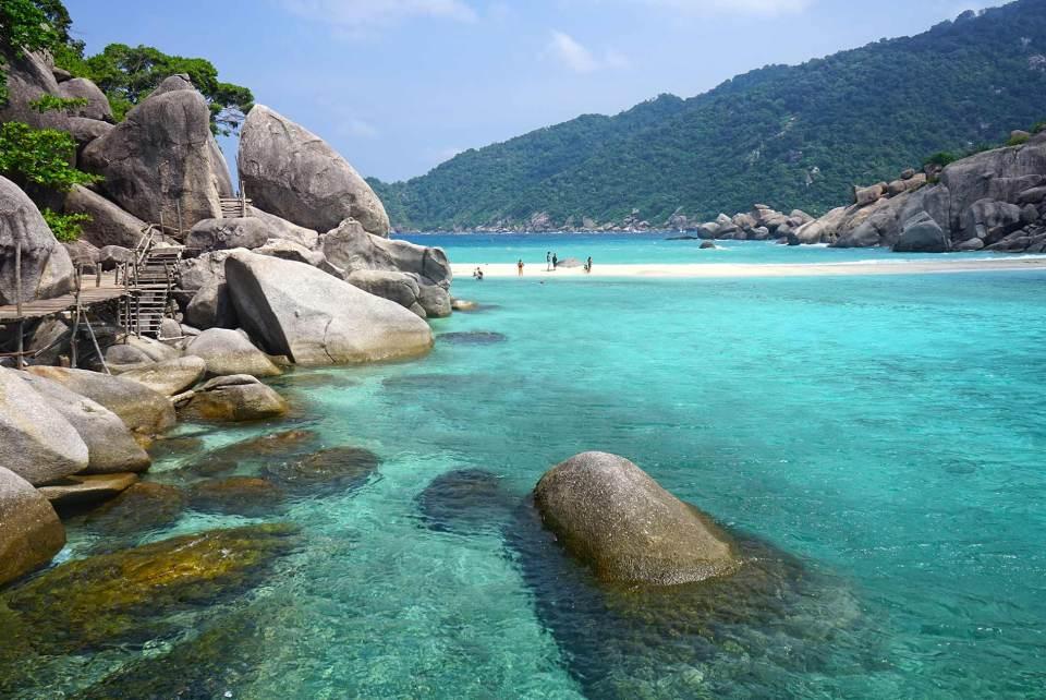 Koh-Nang-Yuan,-de-las-playas-más-bonitas-de-Tailandia
