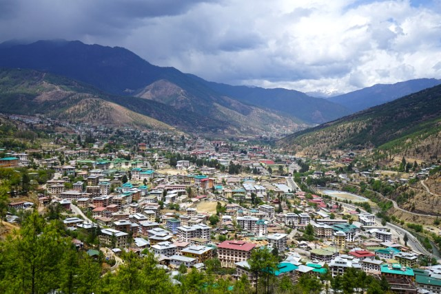 Thimphu, capital de Bután