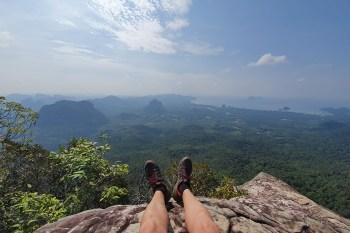 El mirador Dragon Crest, de excursión a la cima de Krabi