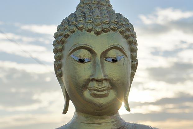 Comportamiento hacia el buda en Tailandia