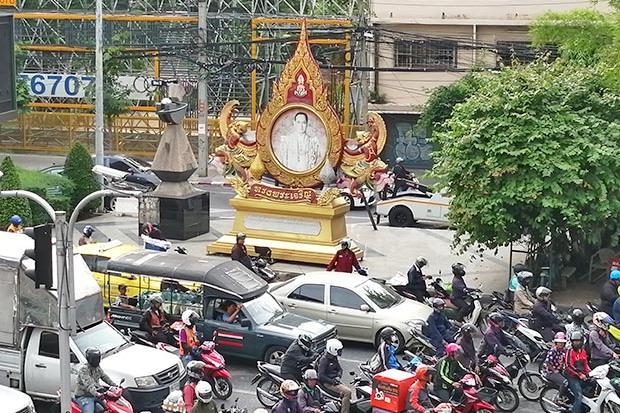 Comportamiento hacia el Rey de Tailandia