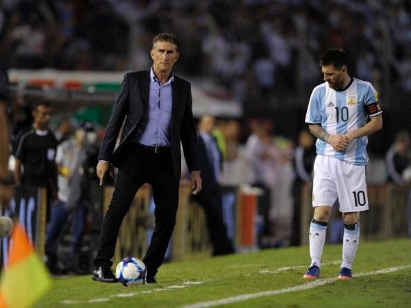 Edgardo Bauza Lionel Messi