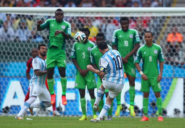 Lionel Messi Argentina World Cup Nigeria