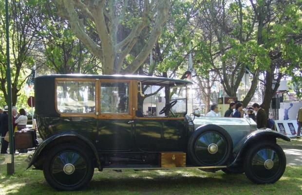 ROLLS ROYCE SILVER GHOST DE 1920 Best of Show de Autoclasica 2009 - 01a