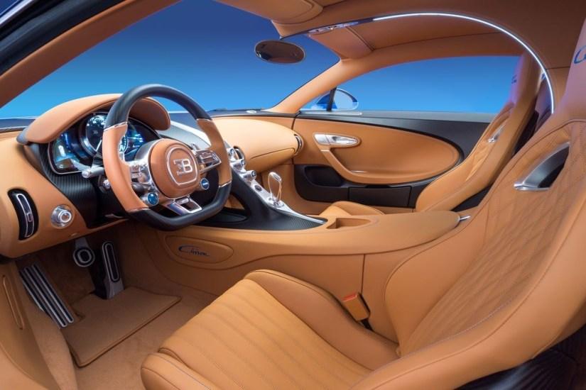 Bugatti Chiron - Interior