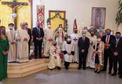 Bendecida la Virgen del Buen Remedio de la Comunidad Trinitaria de Algeciras