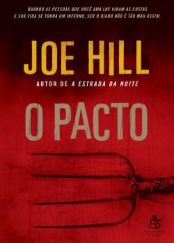 Livro da Primeira Edição - Ainda com o nome original O Pacto - Escrito Por joe hill