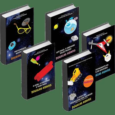 Serie de Livros - O Guia do Mochileiro das Galáxias
