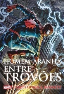 Homem-aranha entre trovões