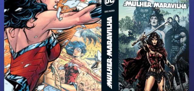 (HQ) Mulher-Maravilha: DC Renascimento 1-12