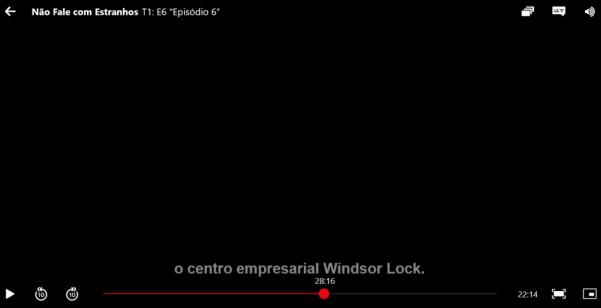 CRÍTICA DA SÉRIE NÃO FALE COM ESTRANHOS (NETFLIX)
