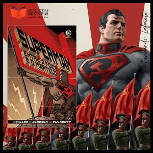 Superman: Entre a foice e o martelo - Mark Millar | E se o Superman...