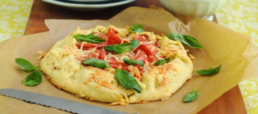 Tarta Rústica de Tomates y Choclo