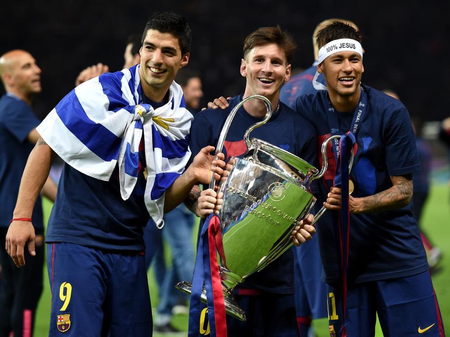 El tridente MSN, Messi-Suárez-Neymar, funcionó a la perfección.