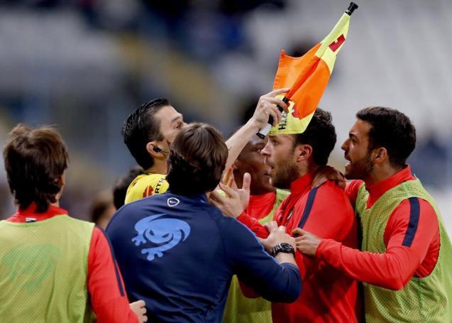 Resultado de imagen de malaga levante gol anulado
