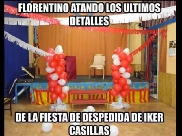Iker Casillas, víctima de los memes por su salida del Real Madrid al Porto
