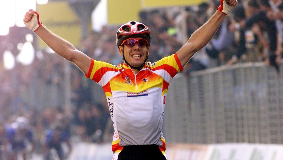 Óscar Freire conquistó el primero de sus tres títulos mundiales en 1999