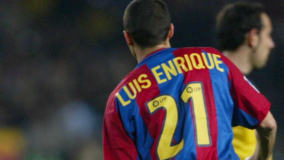El 21 de Luis Enrique en el Barça