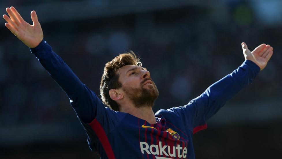 Resultat d'imatges de Messi Madrid Barça 2018