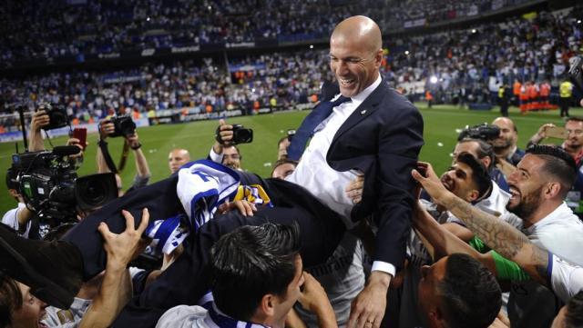 Resultado de imagen para zidane palmares como tecnico
