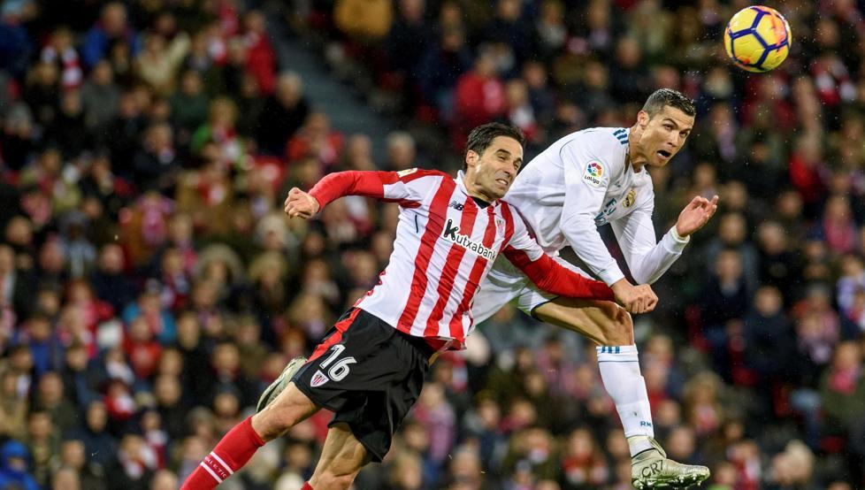 Etxeita jugó su único partido de Liga ante el Real Madrid