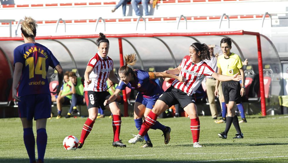 Las rojiblancas se miden a Valencia, Atlético y Barça de forma consecutiva en febrero.