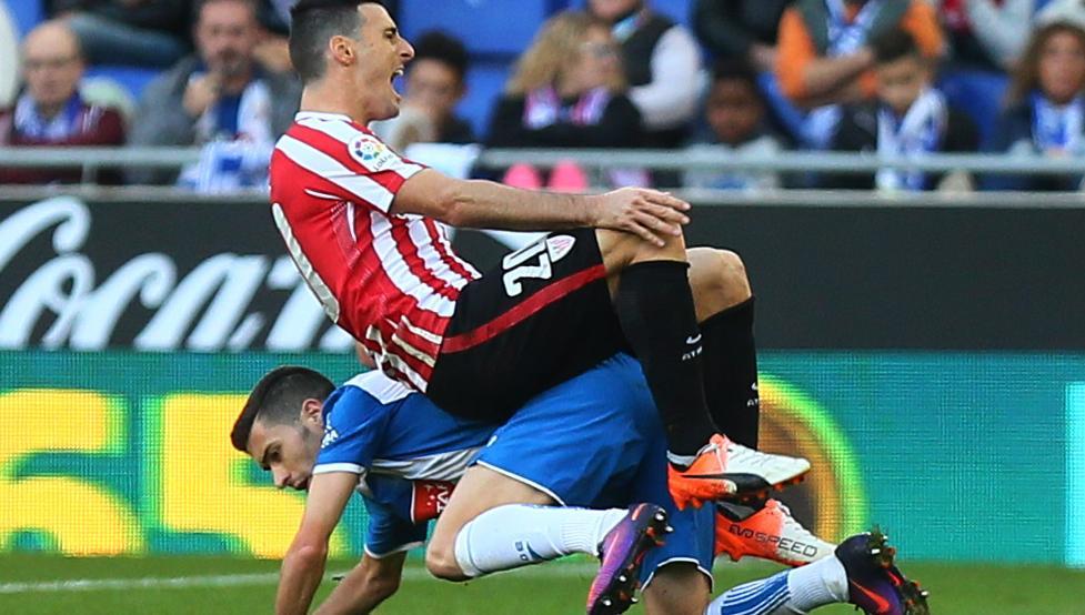 El Athletic visita esta tarde al Espanyol