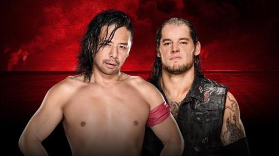 Nakamura vs Baron Corbin