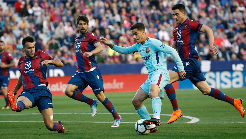 Levante - Barcelona: Resultado, resumen y goles, en directo