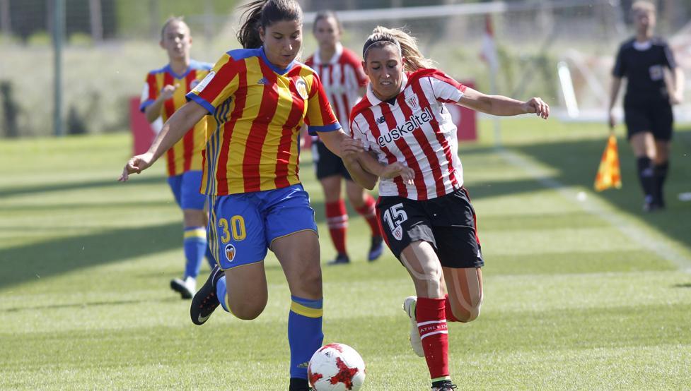Devolución de visita. El Athletic se impuso 3-2 al Valencia en el choque disputado en Lezama.