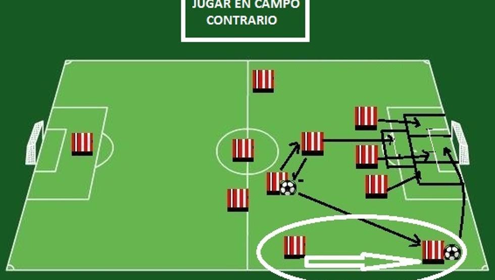 Jugar en campo contrario, apretar y ganar las segundas jugadas, señas de identidad en el juego del Athletic.