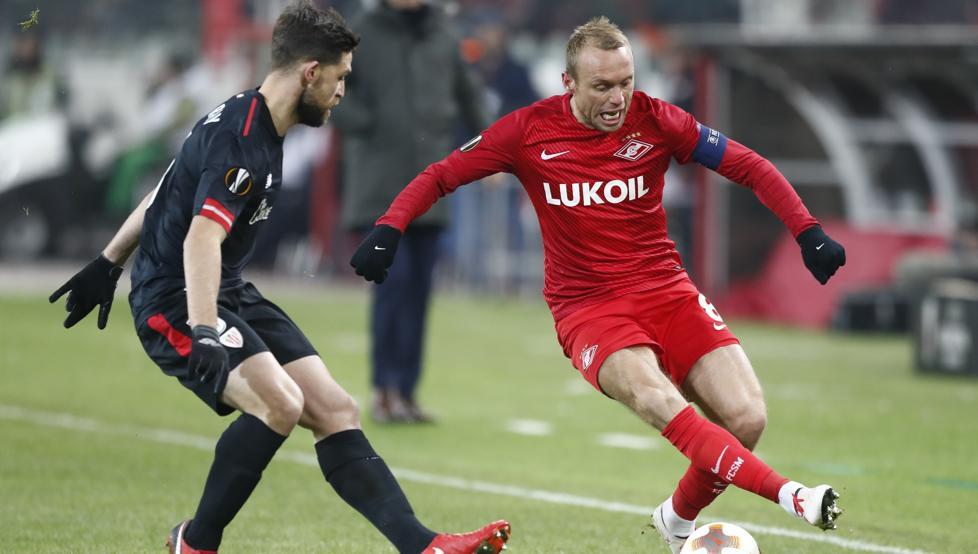 Yeray jugó un partidazo en Moscú