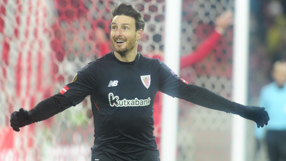 El Athletic derrotó al Spartak en Moscú (1-3) con dos goles de Aduriz y uno de Mikel Rico