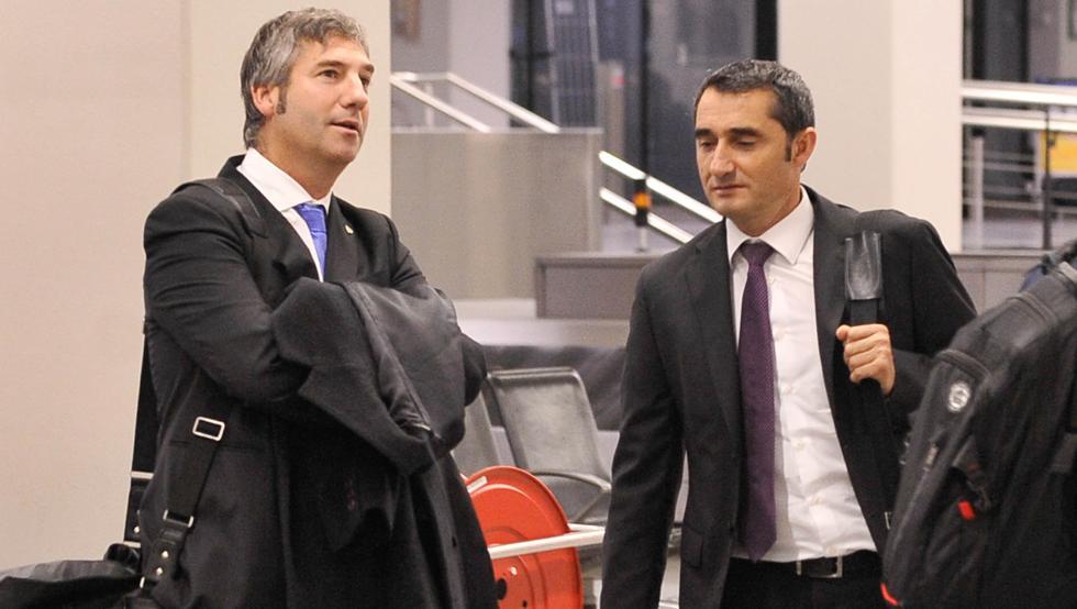 El año que le quedaba a Valverde fue lo primero que esgrimió Urrutia cuando sonó para el Barça en 2014.